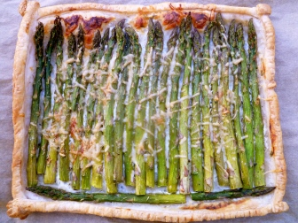 Asparagus Tarts & Cheese © Ketmala's Kitchen 2012-13