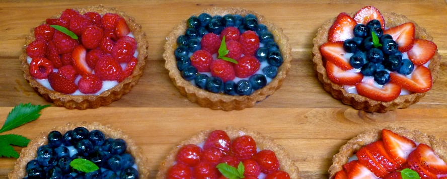 Berry Tartlets Vegan GF