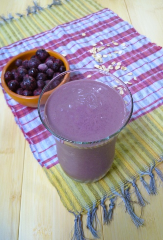 Blueberry Smoothie © Ketmala's Kitchen 2012-13