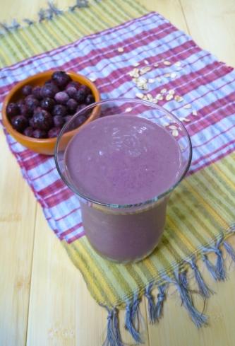 Blueberry Smoothie © Ketmala's Kitchen 2012-13