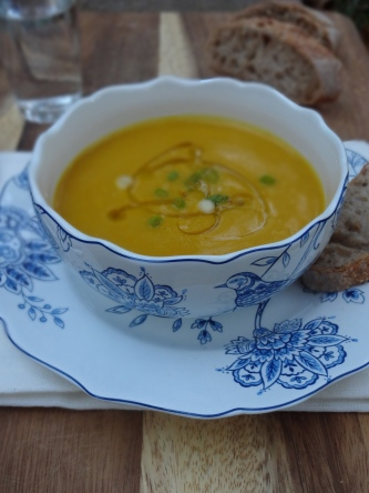 Roasted Butternut Squash Soup © Ketmala's Kitchen 2012-13