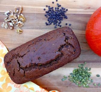 Spelt Pumpkin Bread © KETMALA'S KITCHEN 2012.