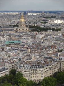 View from the Eiffel Tower  © KETMALA'S KITCHEN 2012-13