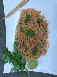 Vegetarian Pad Thai © KETMALA'S KITCHEN 2012-13