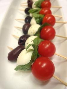 Tomato Mozarella Olive Bite © KETMALA'S KITCHEN 2012-13
