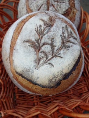 Rosemary Artisan Bread © KETMALA'S KITCHEN 2012-13