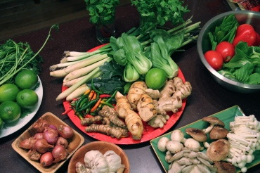 Fresh Thai Ingredients © KETMALA'S KITCHEN 2012-13