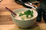 Thai Galangal Mushroom Tofu Coconut Soup © KETMALA'S KITCHEN 2012-13