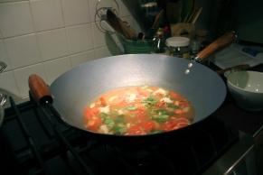 Thai Hot & Sour Soup © KETMALA'S KITCHEN 2012-13