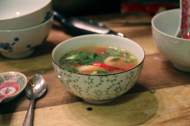 Tom Yum Goong (mild) © KETMALA'S KITCHEN 2012-13