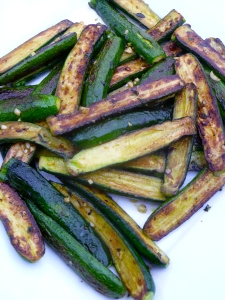 Roasted Baby Zucchini © KETMALA'S KITCHEN 2012-13