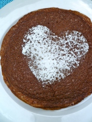 Chocolate Crêpe with Heart © KETMALA'S KITCHEN 2012-13