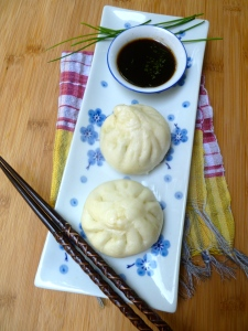 Spinach Bao Bun © KETMALA'S KITCHEN 2012-13