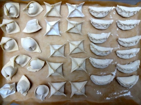 Shaping Asian Dumplings © KETMALA'S KITCHEN 2012-14
