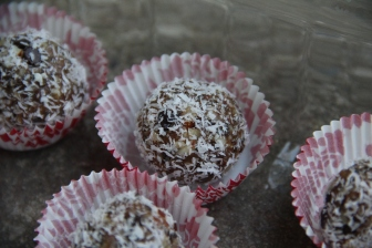 Tiny Healthy Treat with Coconut © KETMALA'S KITCHEN 2012-13