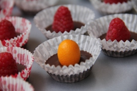 Kumquat Chocolate Barquette © KETMALA'S KITCHEN 2012-13