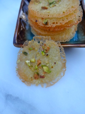 Orange Pistachio Tuiles © KETMALA'S KITCHEN 2012-13
