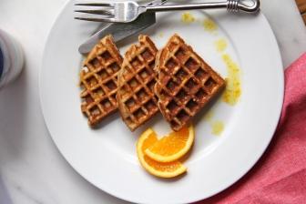 Almond Yogurt Waffles © KETMALA'S KITCHEN 2012-13