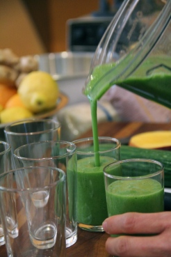 Green Smoothie © KETMALA'S KITCHEN 2012-13