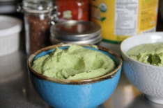 Creamy Pea Hummus © KETMALA'S KITCHEN 2012-13