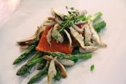 Wild Salmon Asparagus Shiitakes © KETMALA'S KITCHEN 2012-13