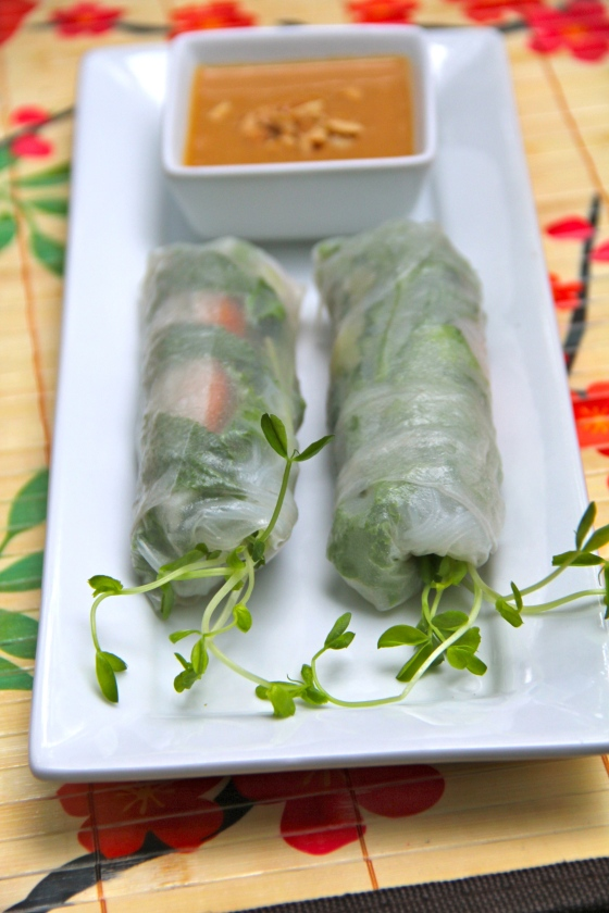 Kids Spring/Summer Rolls Class © KETMALA'S KITCHEN 2012-14