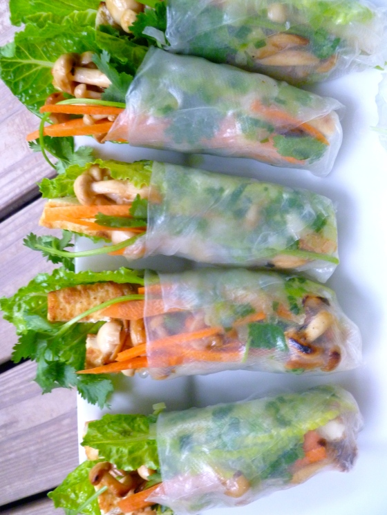 Kids Summer Rolls Class © KETMALA'S KITCHEN 2012-13
