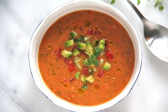Sun Kissed Gazpacho © KETMALA'S KITCHEN 2012-13
