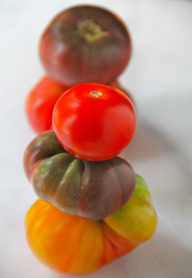 Heirloom Tomatoes © KETMALA'S KITCHEN 2012-13