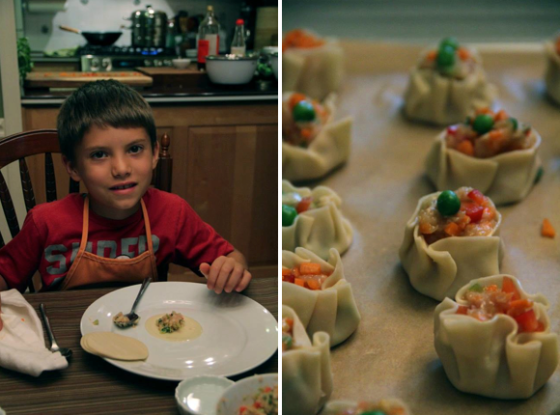 Asian Dumpling Kid's Class © KETMALA'S KITCHEN 2014
