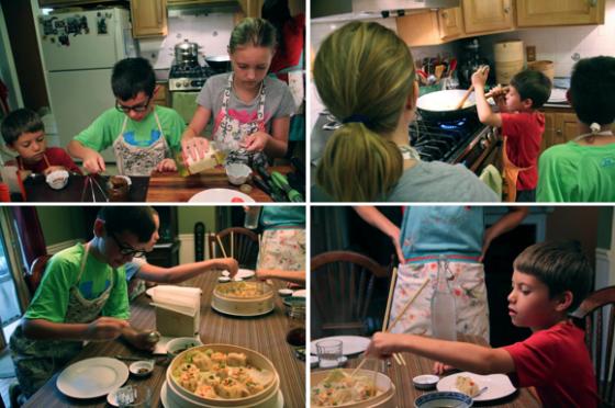 Asian Dumpling Kid's Class © KETMALA'S KITCHEN 2014