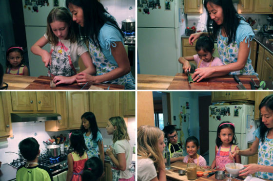 Summer Rolls Kid's Class © KETMALA'S KITCHEN 2014