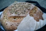 Seeded Boule at Everyday Artisan Bread Class © KETMALA'S KITCHEN 2014