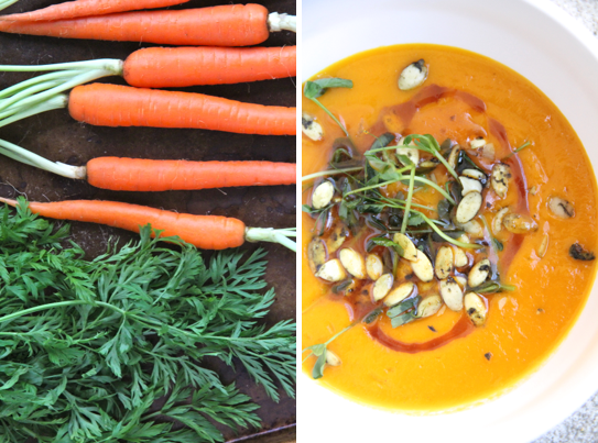 Cozy Carrot Ginger Soup @KetmalasKitchen 2015