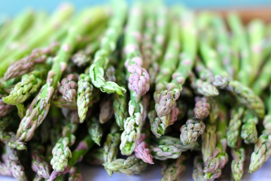 Spring Asparagus © KETMALA'S KITCHEN 2014