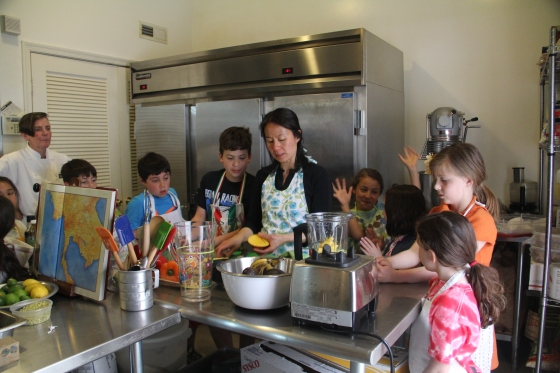 Kids Class at Chefanti @Ketmala's Kitchen 2014