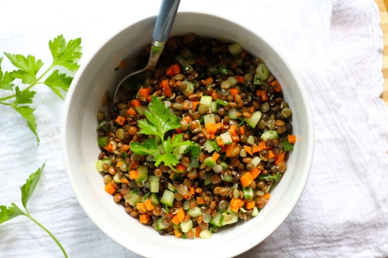 Sprouted Trio Lentil Salad @KetmalasKitchen 2015