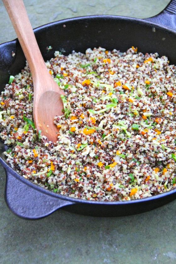 Confetti Quinoa @Ketmala's Kitchen